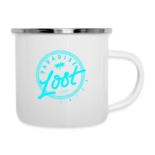 Paradise Lost Ibiza - Acid Blue Logo - Camper Mug