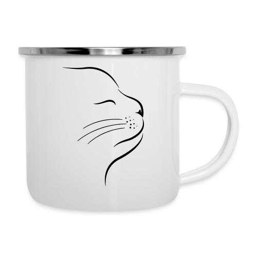 Vorschau: Catstyle - Emaille-Tasse