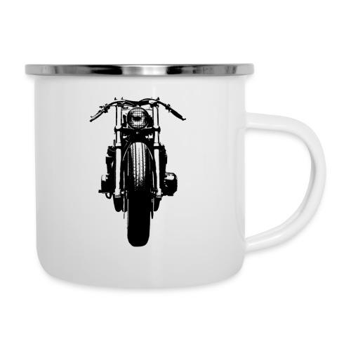 Motorcycle Front - Camper Mug
