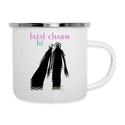 fatal charm - hi album cover art - Camper Mug