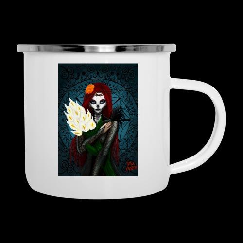 Death and lillies - Camper Mug