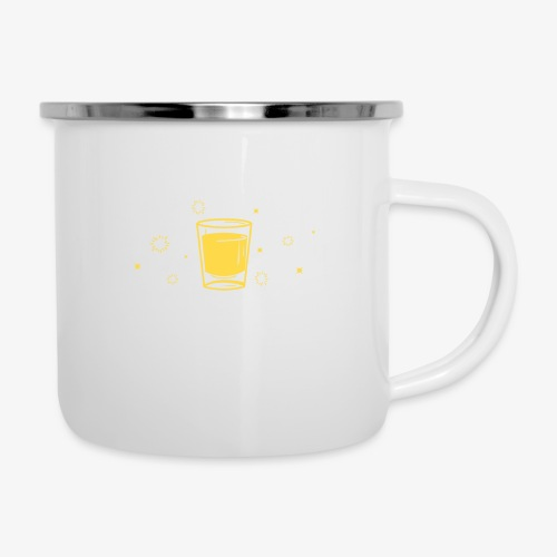 funny bachelor party | lustiges Junggeselle-Party - Emaille-Tasse