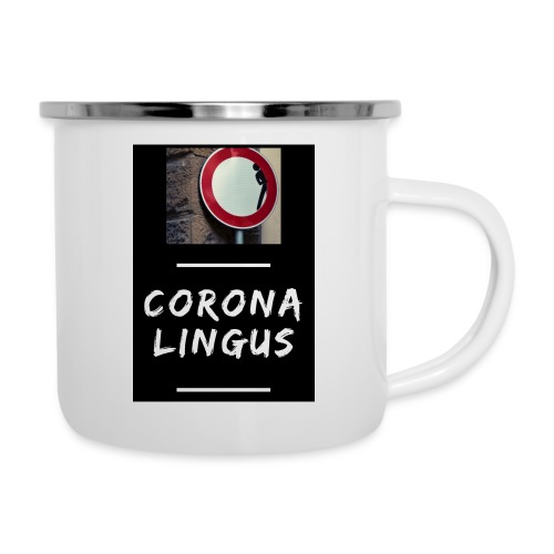 Corona Lingus - Tasse émaillée