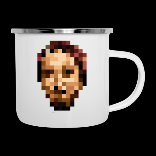 Only PIXELFACE - Emaille-Tasse