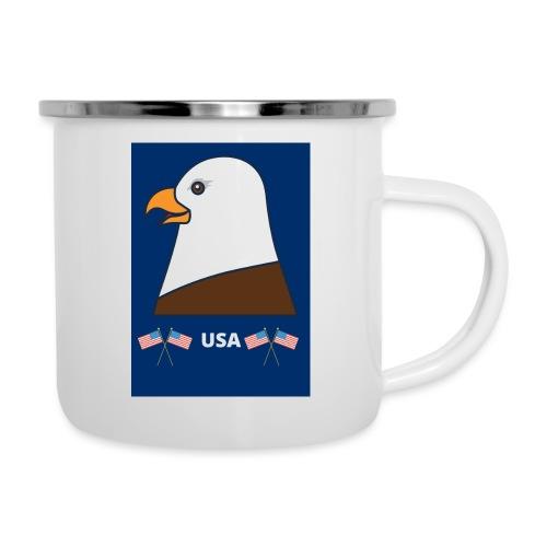 Mug PYGARGUE A TETE BLANCHE(USA) - Tasse émaillée