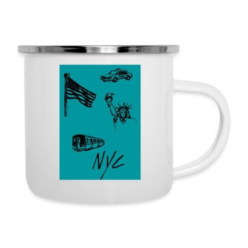 Mug New-York - Tasse émaillée