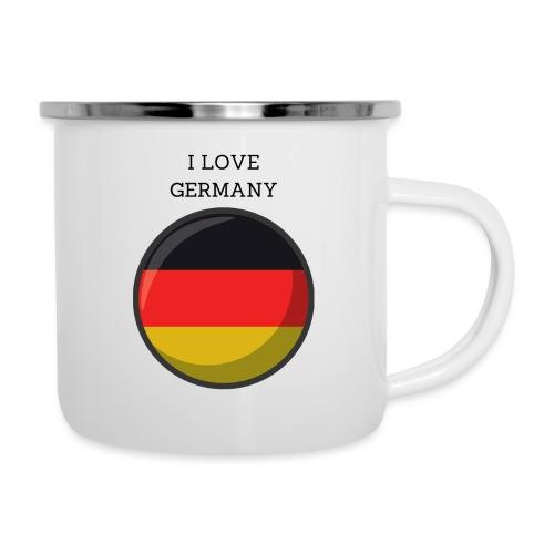 Mug Germany - Tasse émaillée