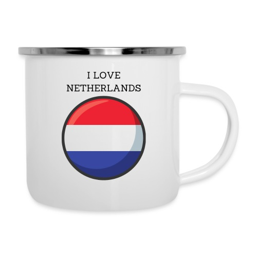 Mug Netherlands - Tasse émaillée