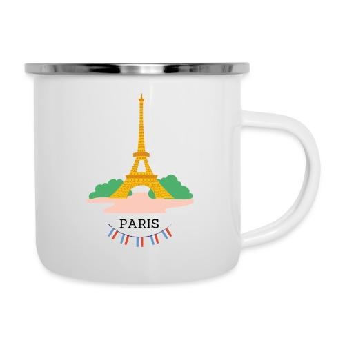 Mug Tour eiffel - Tasse émaillée
