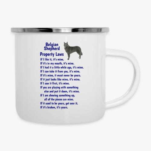 Belgian Shepherd Property laws - Camper Mug