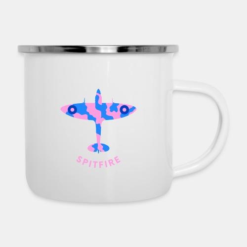 Spitfire fighter plane - Camper Mug