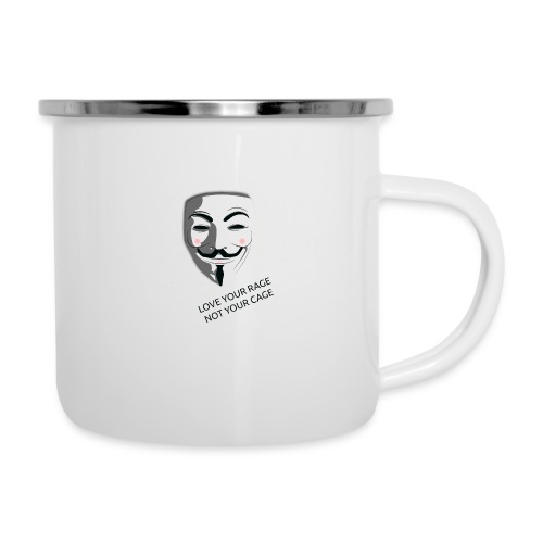 Anonymous Love Your Rage - Camper Mug
