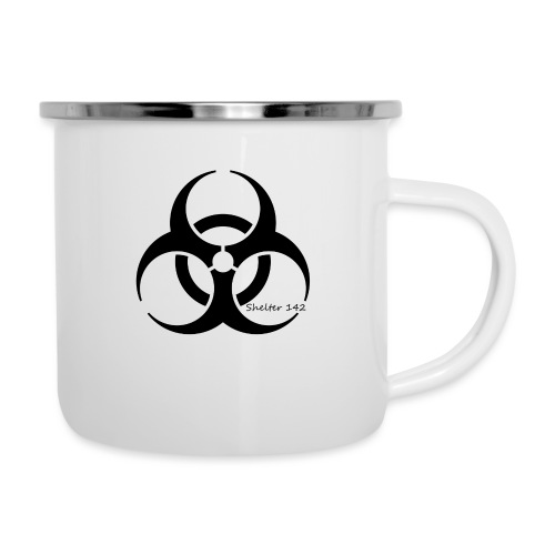 Biohazard - Shelter 142 - Emaille-Tasse