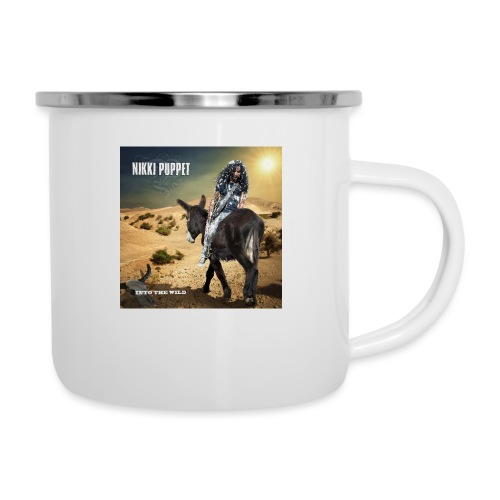 NIKKI PUPPET INTO THE WILD - Emaille-Tasse