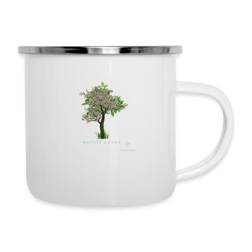 Natur - Emaille-Tasse