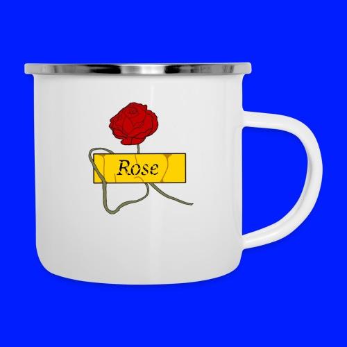Rose - Emaljmugg