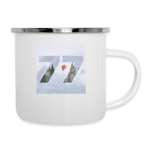 Drifters In The Wind - Emaille-Tasse