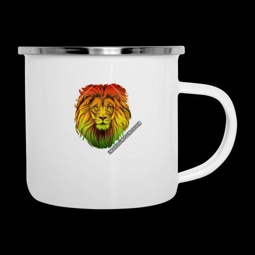 LION HEAD - UNDERGROUNDSOUNDSYSTEM - Emaille-Tasse