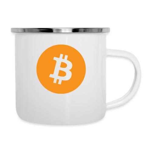 Bitcoin Merch - Emaljekrus