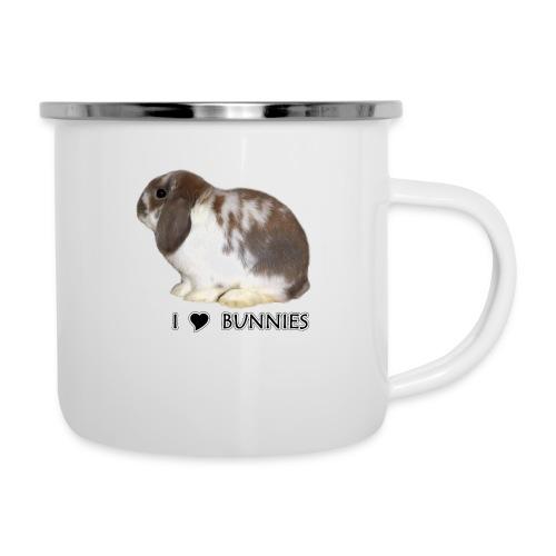 I Love Bunnies Luppis - Emalimuki