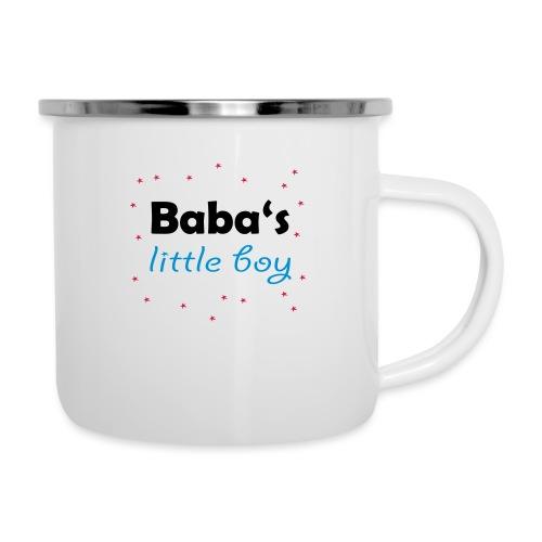 Baba's litte boy Babybody - Emaille-Tasse