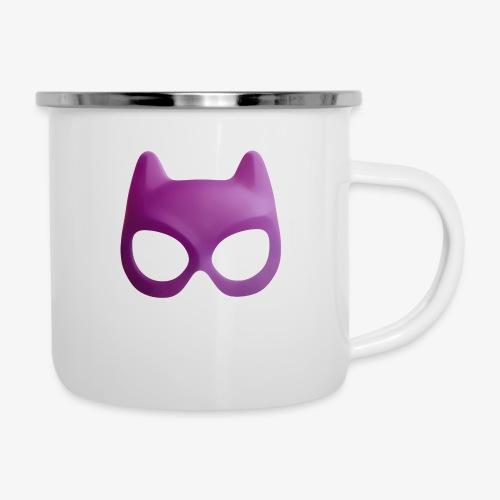 Bat Mask - Kubek emaliowany