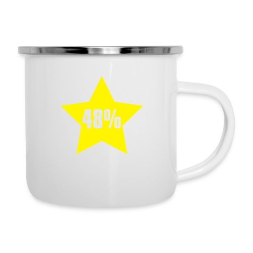 48% in Star - Camper Mug