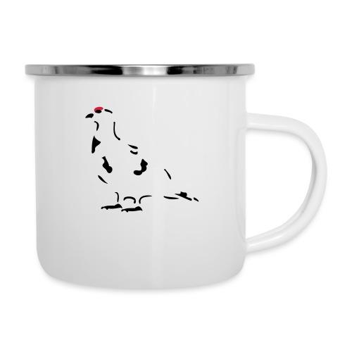 Schneehuhn - Emaille-Tasse