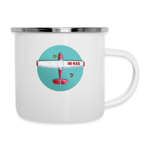 Cessna social distancing - Camper Mug