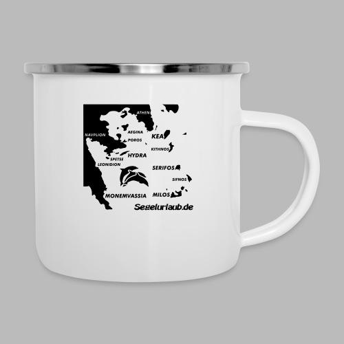 pelepones_kykladen - Emaille-Tasse