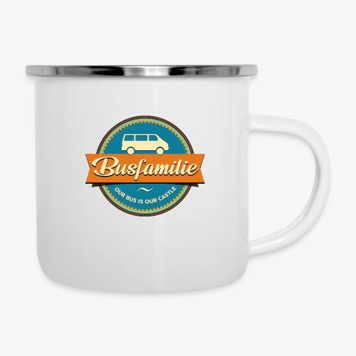 Busfamilie - Emaille-Tasse