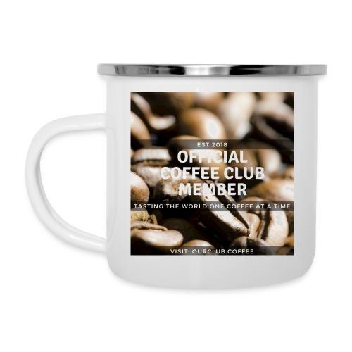 Official Coffee Club Member - Camper Mug