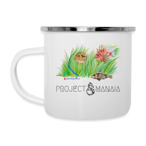Invasive Species designed by @sketchingwildheart - Camper Mug