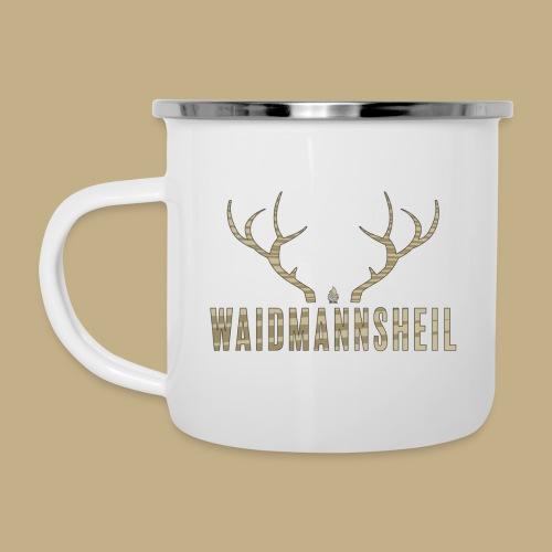 Waidmannsheil - Emaille-Tasse