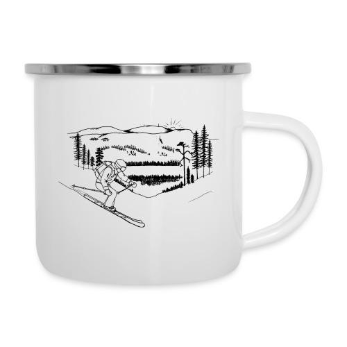 Ylläs freeskier - Camper Mug