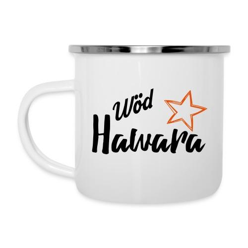 Vorschau: Wöd Hawara - Emaille-Tasse