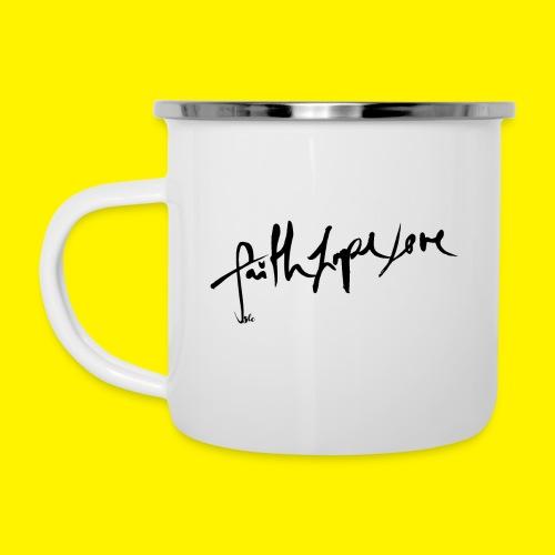 Faith Hope Love - Camper Mug