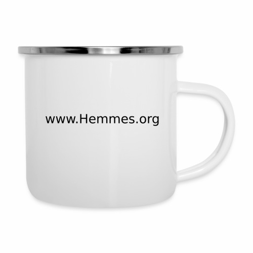 HemmesORG1 - Emaille-Tasse