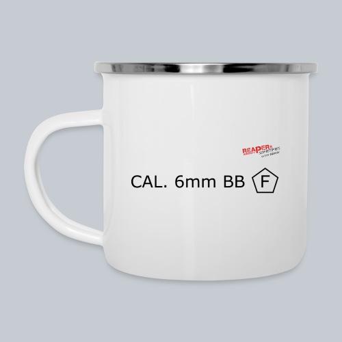 CAL. 6mm BLACK - Emaille-Tasse