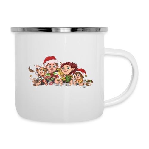 rickgoblinfamily xmas transparent - Camper Mug