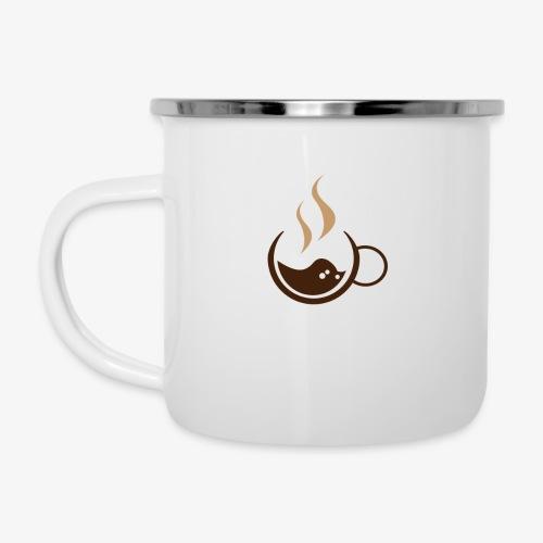 Pose Café - Tasse émaillée