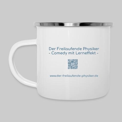 Der Freilaufende Physiker Merchendise - Emaille-Tasse