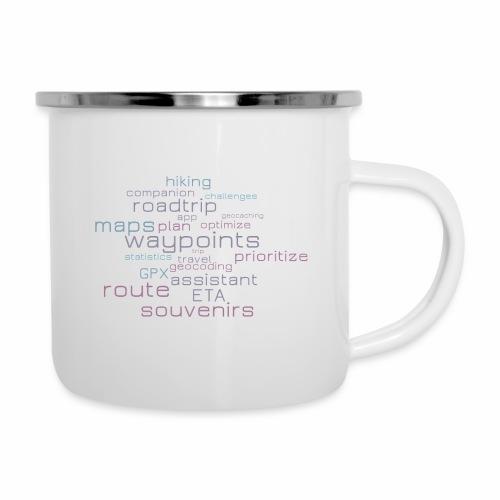 Cachetur.no Word Cloud - Camper Mug