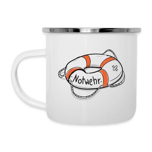 NOTWEHR - Emaille-Tasse