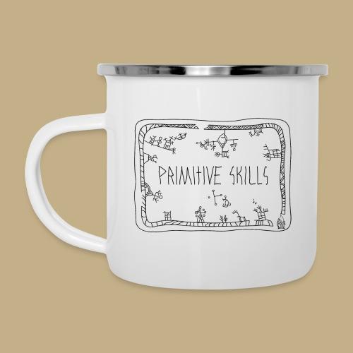 Primitive Skills - Emaille-Tasse