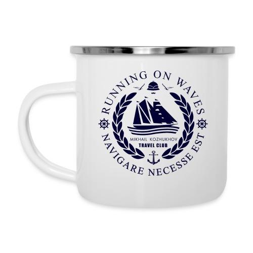 RUNNING ON WAVES - Camper Mug