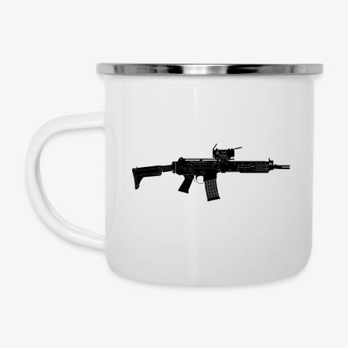 Automatkarbin 5C (Ak5C) - Swedish Assault Rifle - Emaljmugg