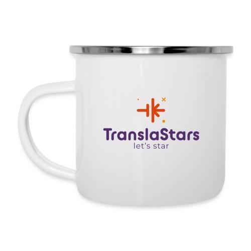 Logo Let's star - Taza esmaltada