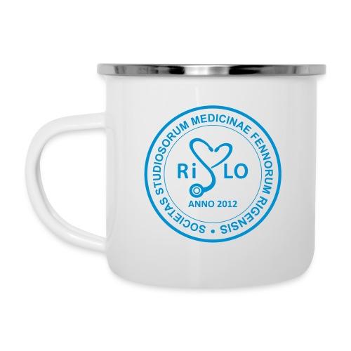 Rislo Logo - sisäiseen käyttöön - Emalimuki