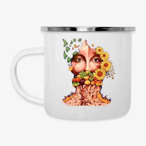 Fruit & Flowers - Camper Mug